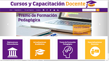 Detalle de www.cursosycapacitaciondocente.com.ar