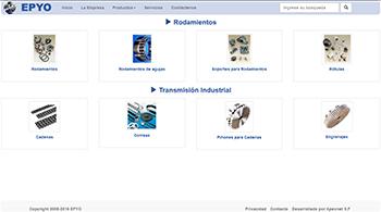 Detalle de www.epyo.com.ar/