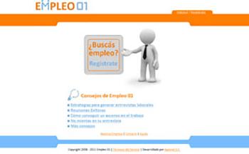 Detalle de www.empleos01.com.ar