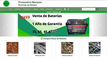 Detalle de www.prensadoramarquez.com.ar