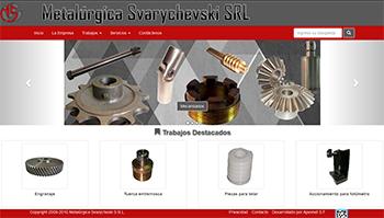 Detalle de www.metalurgicasv.com.ar/
