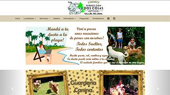 Detalle de www.perroscondoscolas.com.ar/