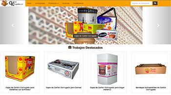 Detalle de www.quilmescorrugados.com.ar/